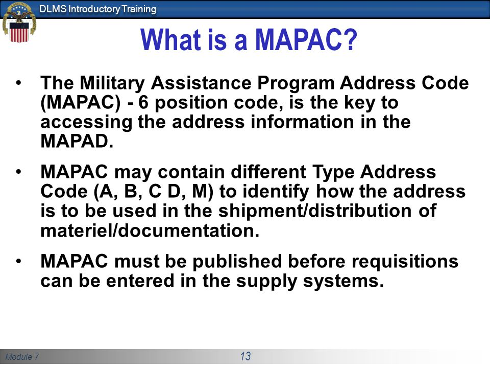 What is a MAPAC