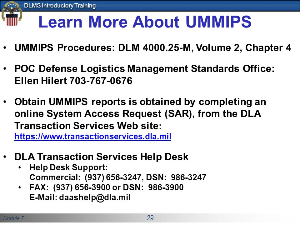 Learn More About UMMIPS