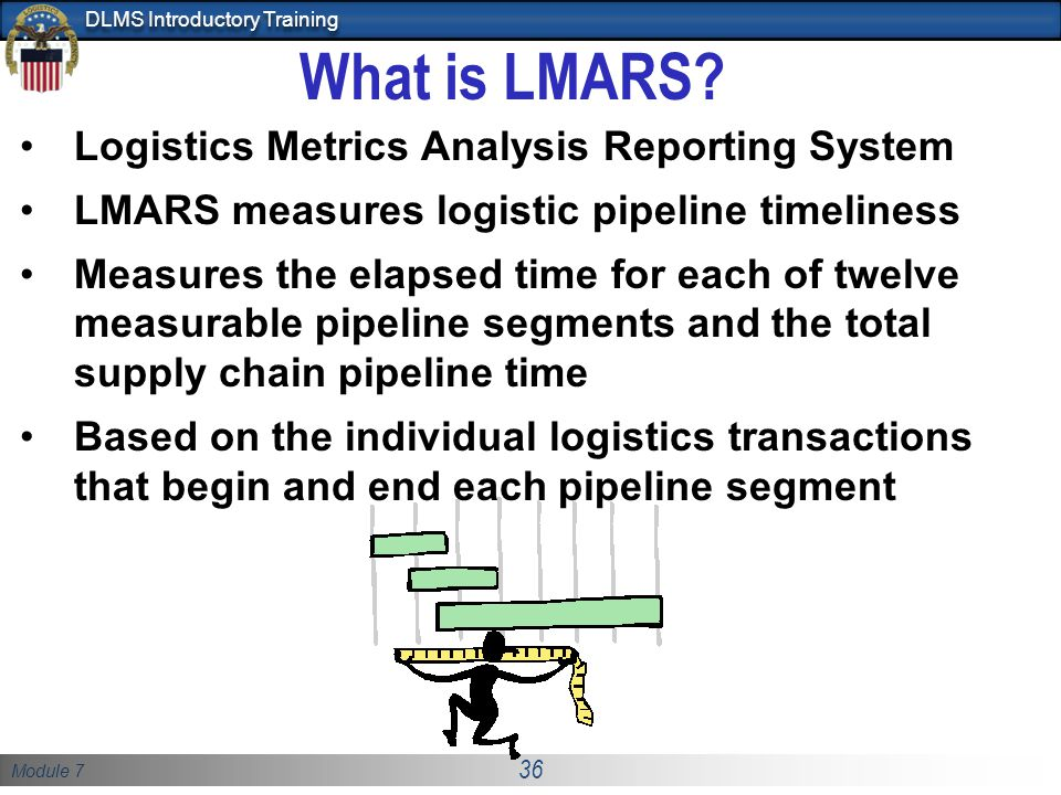What is LMARS Logistics Metrics Analysis Reporting System