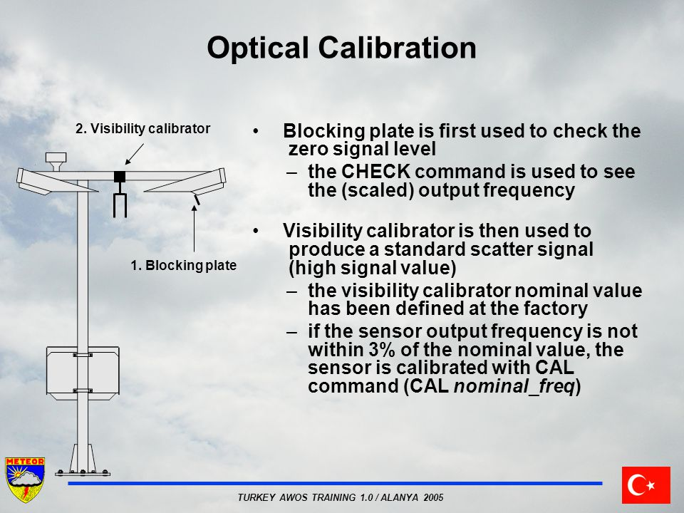 2. Visibility calibrator