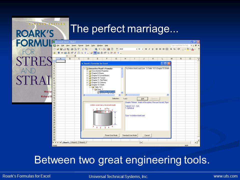 Between two great engineering tools.