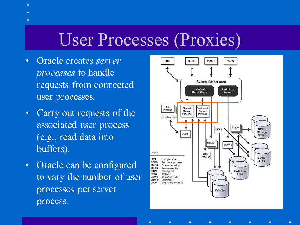 User Processes (Proxies)