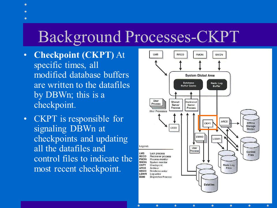 Background Processes-CKPT