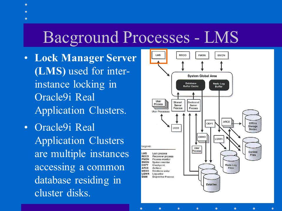 Bacground Processes - LMS