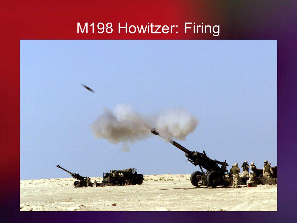 M198 Howitzer: Firing