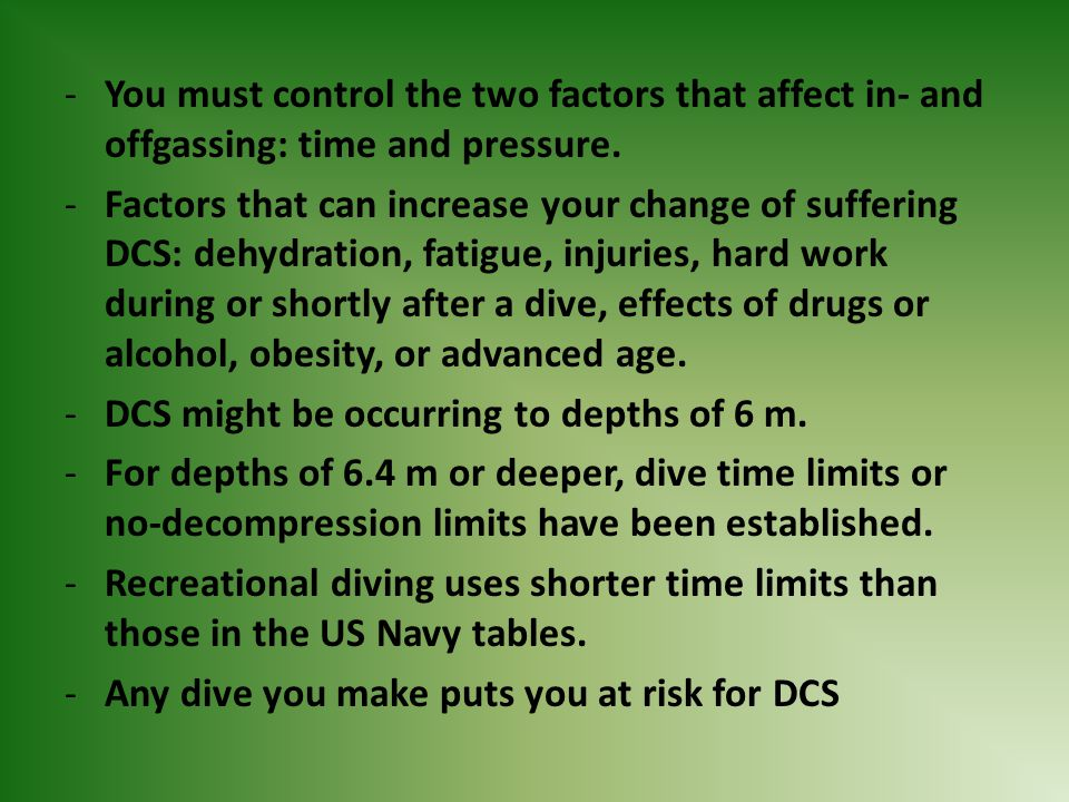 You must control the two factors that affect in- and offgassing: time and pressure.
