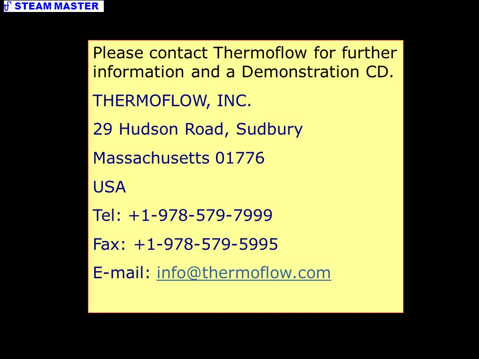 E-mail: info@thermoflow.com