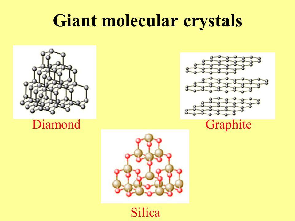 Giant molecular crystals