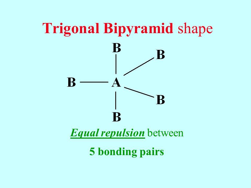 Trigonal Bipyramid shape