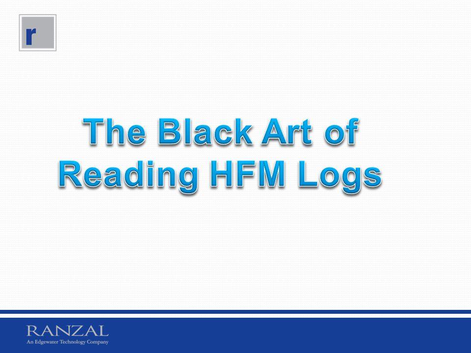 The Black Art of Reading HFM Logs