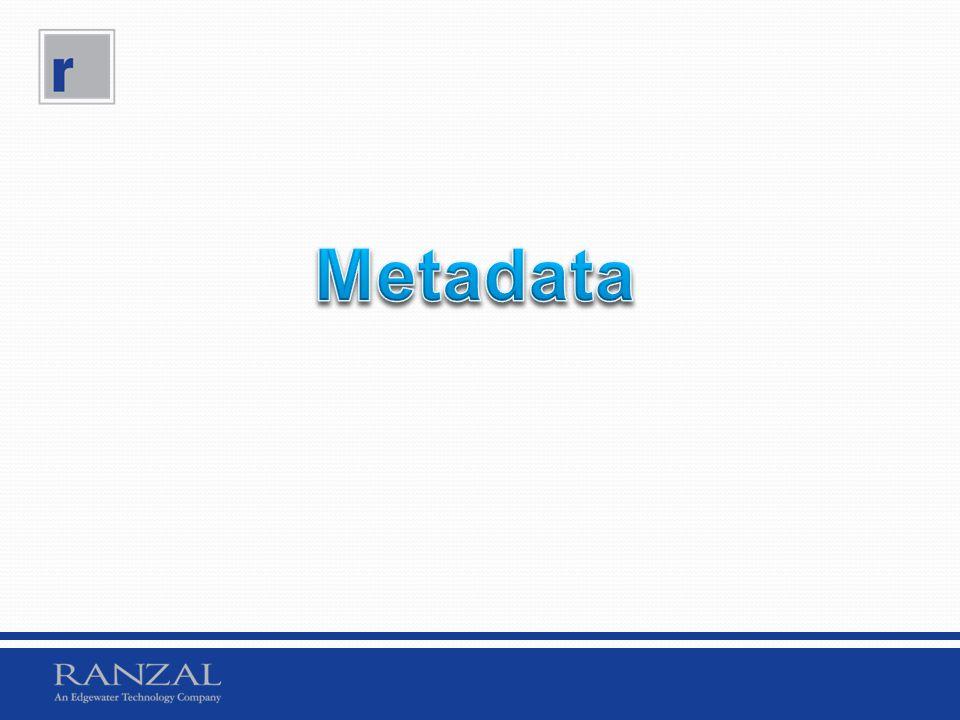 Metadata What is a metadata