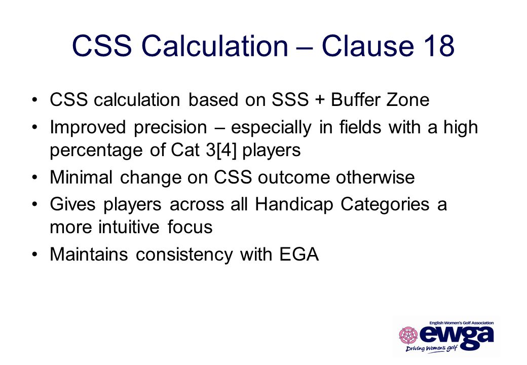 CSS Calculation – Clause 18