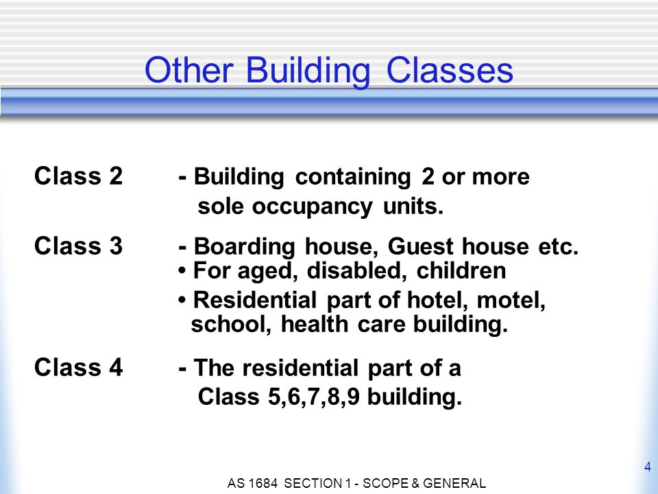 Other Building Classes