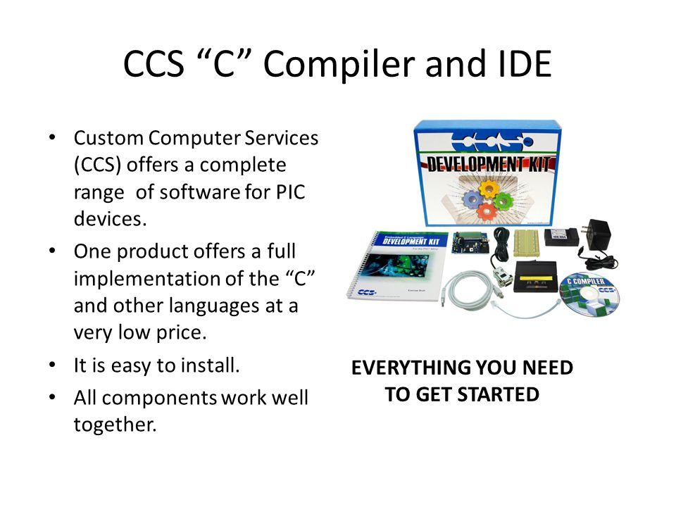CCS C Compiler and IDE