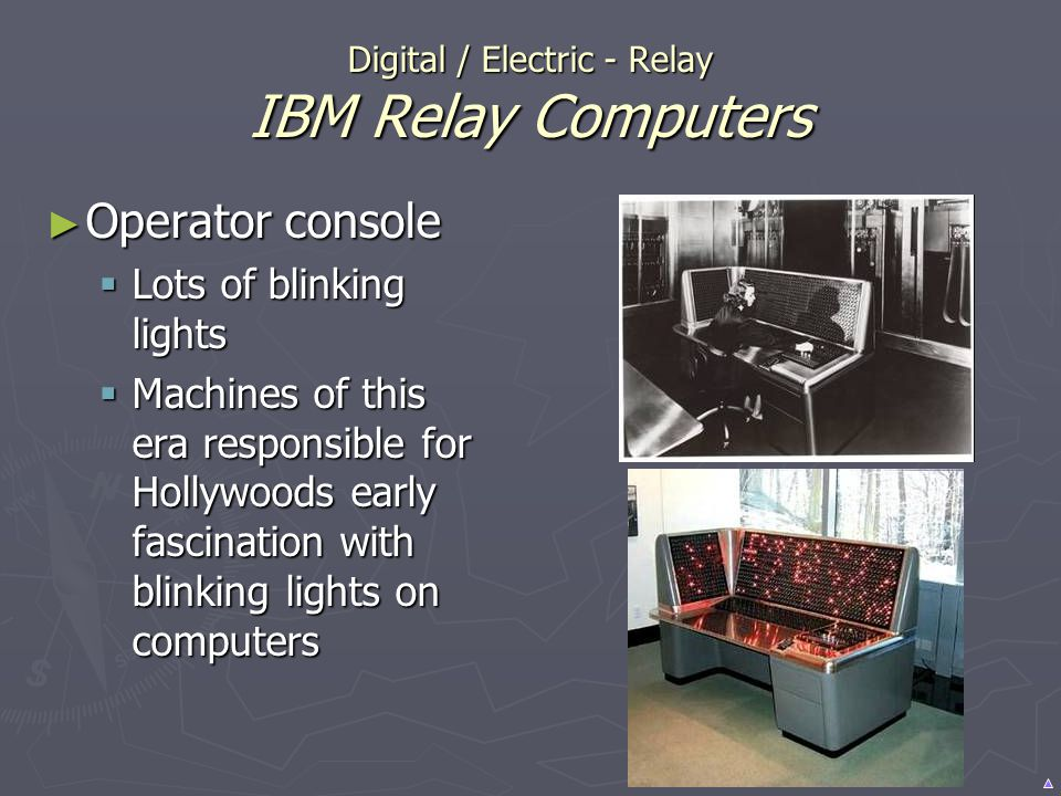 Digital / Electric - Relay IBM Relay Computers