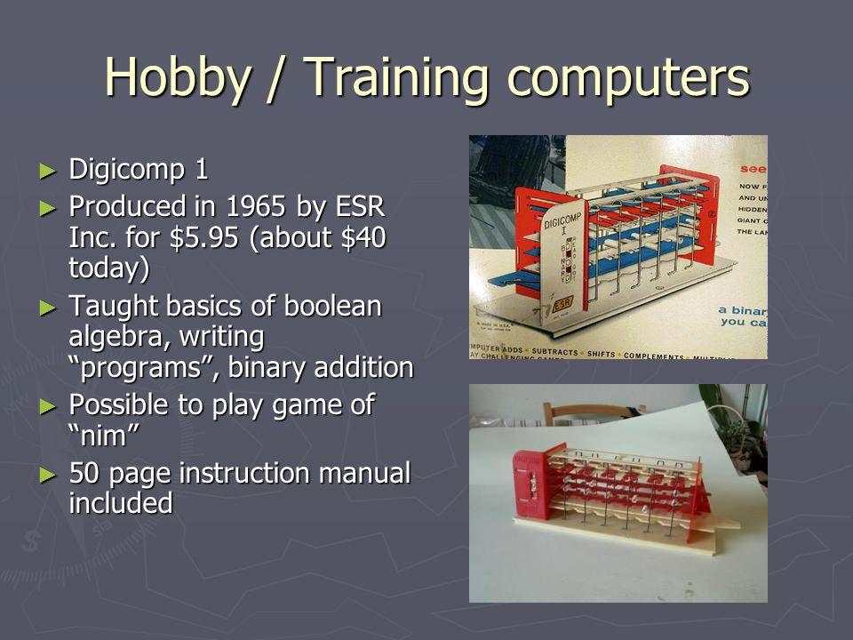 Hobby / Training computers