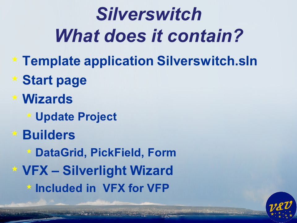 Silverswitch What does it contain