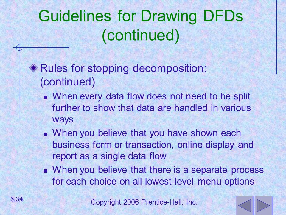 Guidelines for Drawing DFDs (continued)
