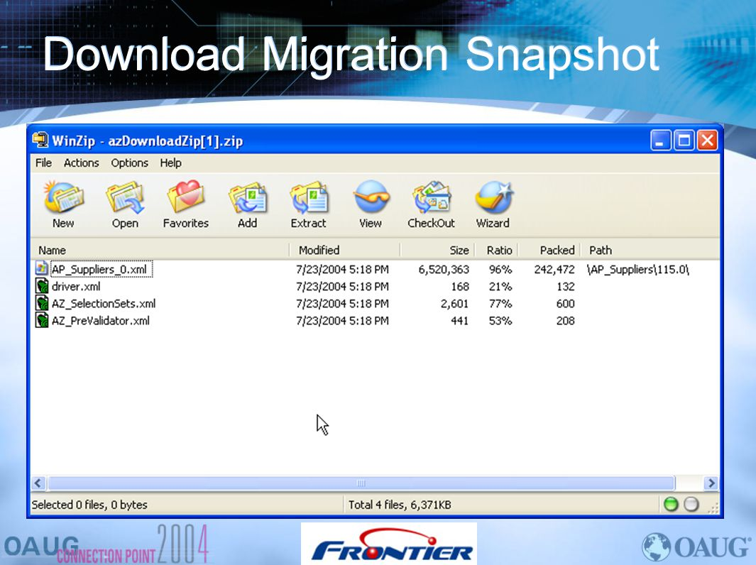 Download Migration Snapshot