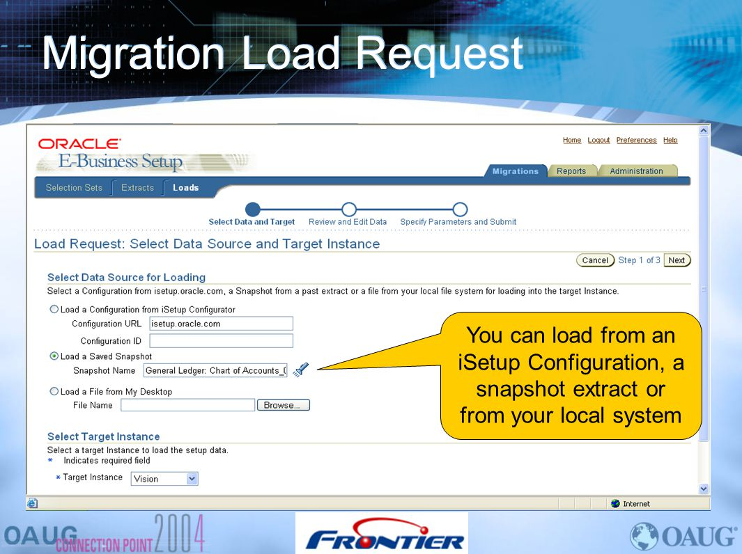 Migration Load Request
