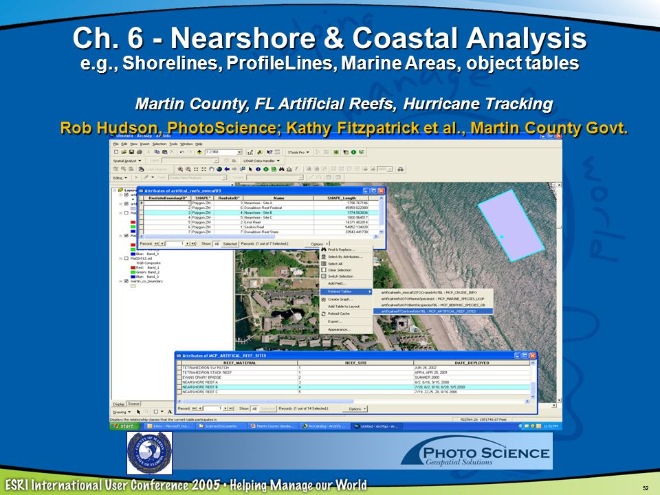 Ch. 6 - Nearshore & Coastal Analysis e. g