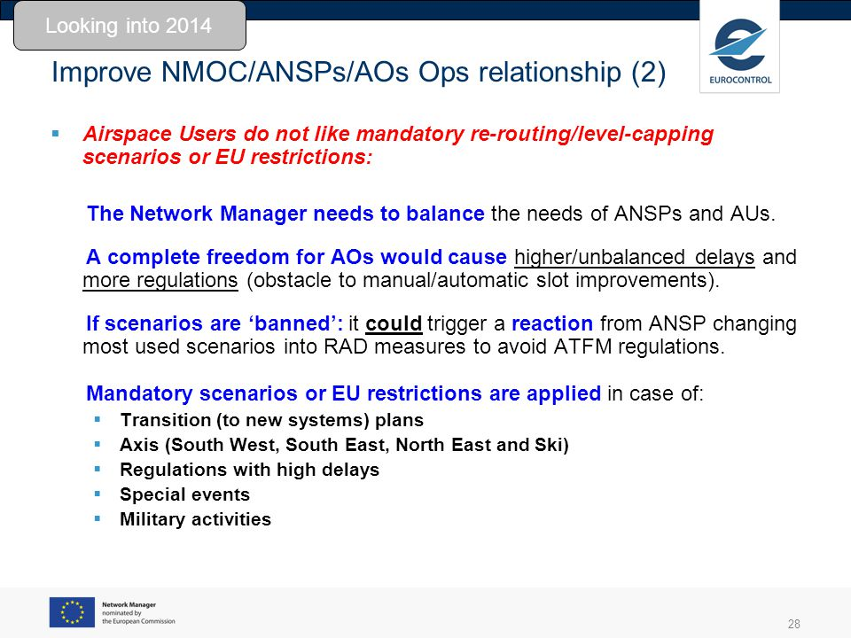 Improve NMOC/ANSPs/AOs Ops relationship (2)