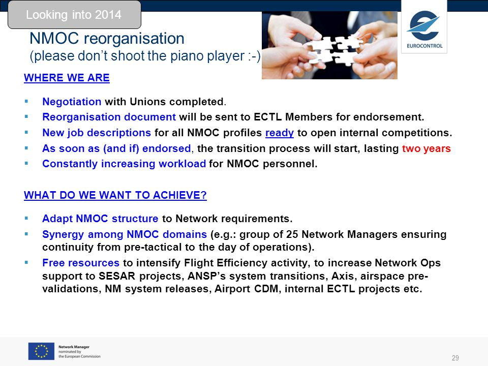 NMOC reorganisation (please don't shoot the piano player :-)