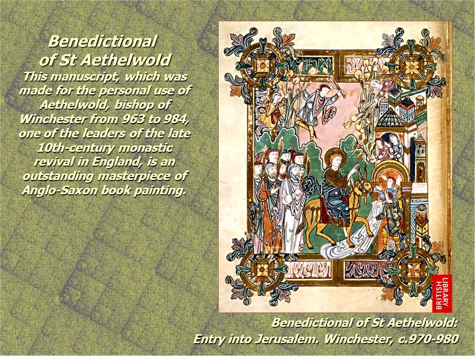 Benedictional of St Aethelwold