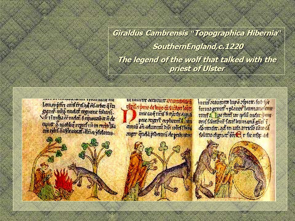 Giraldus Cambrensis Topographica Hibernia SouthernEngland,c.1220