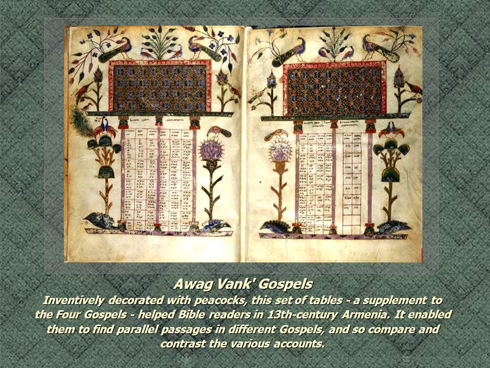 Awag Vank Gospels