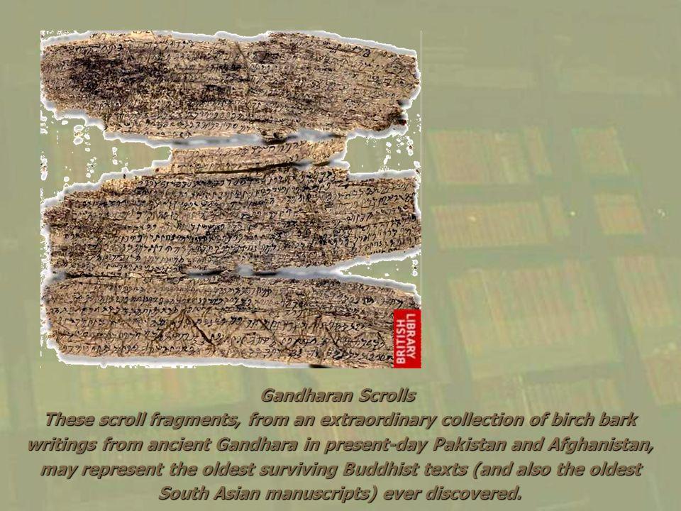 Gandharan Scrolls