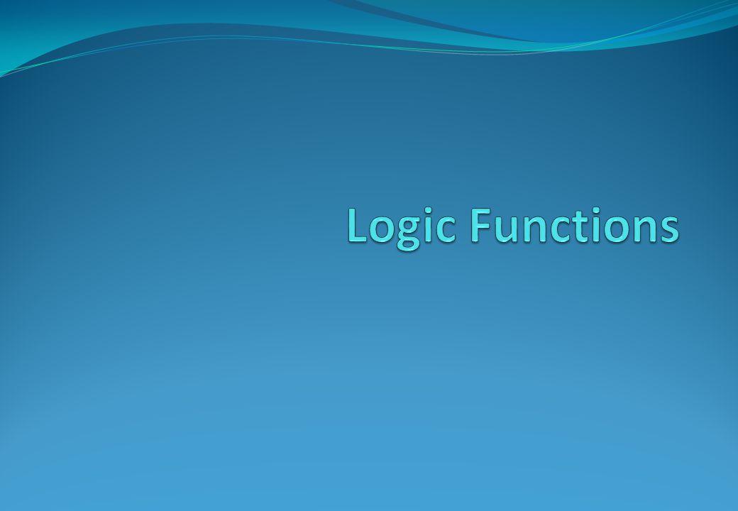 Logic Functions