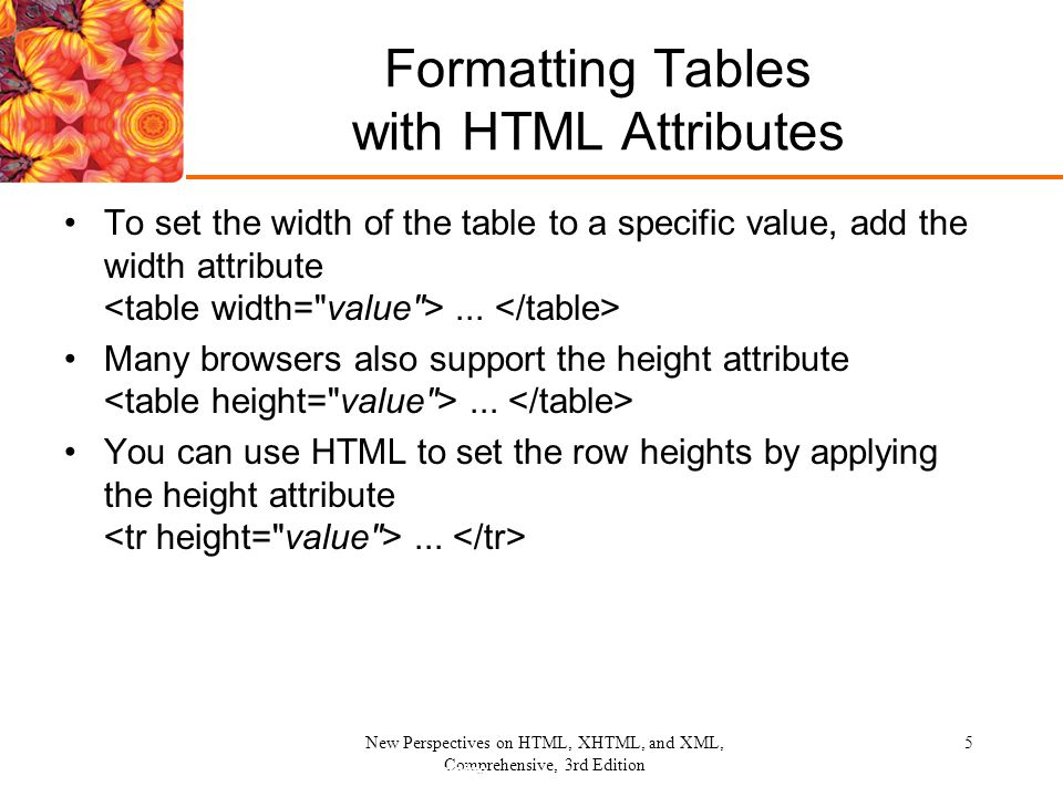 Working with Web Tables - ppt video online download