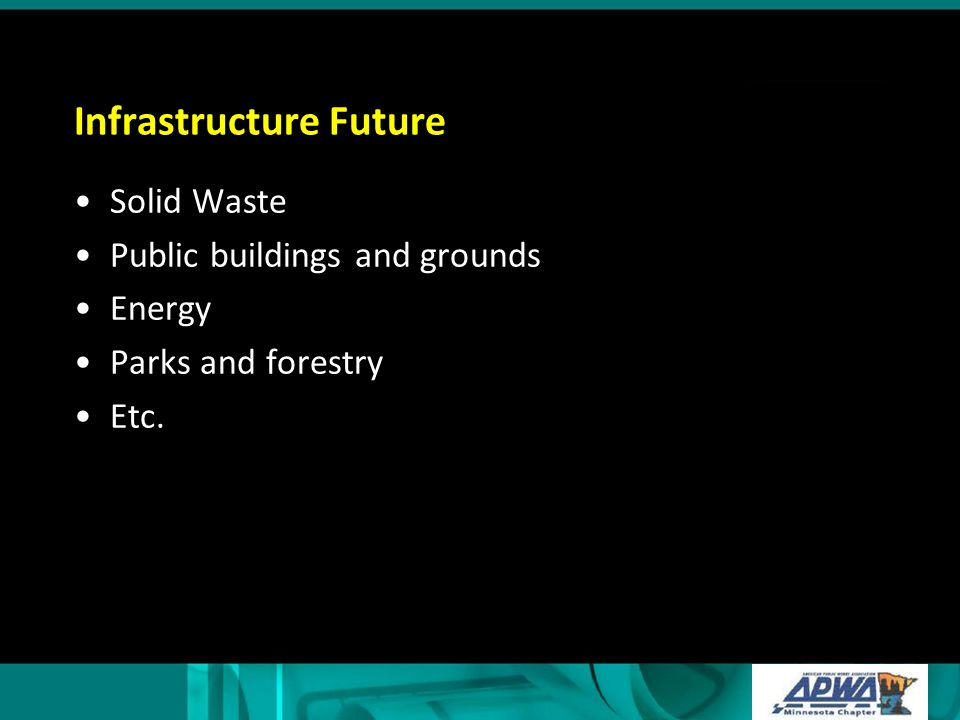 Infrastructure Future