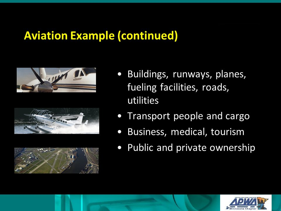 Aviation Example (continued)