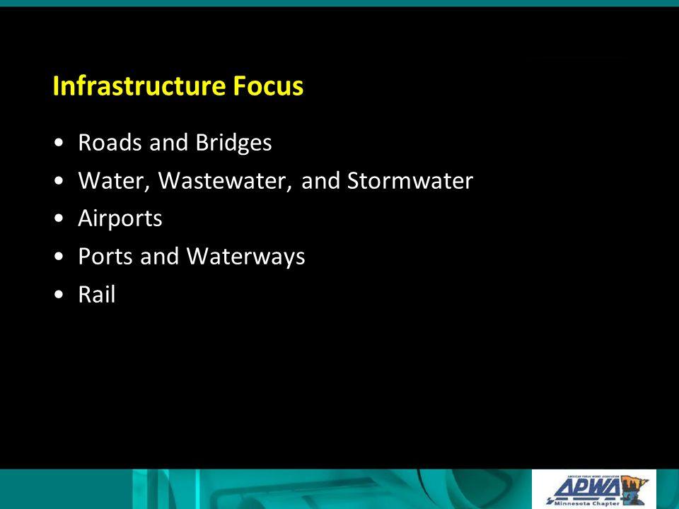 Infrastructure Focus Roads and Bridges
