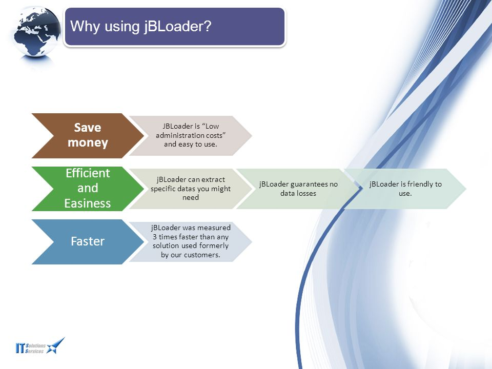 Why using jBLoader Save money Efficient and Easiness Faster