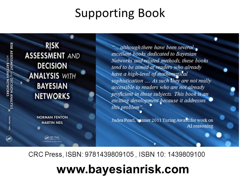 Supporting Book www.bayesianrisk.com