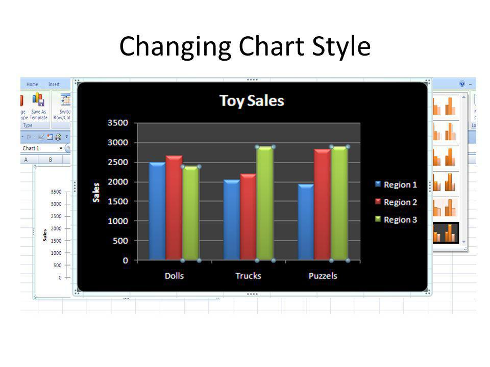 Changing Chart Style