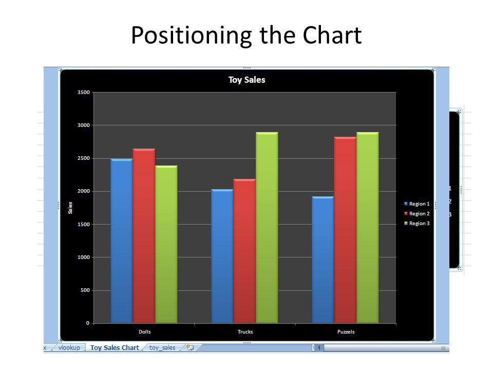 Positioning the Chart