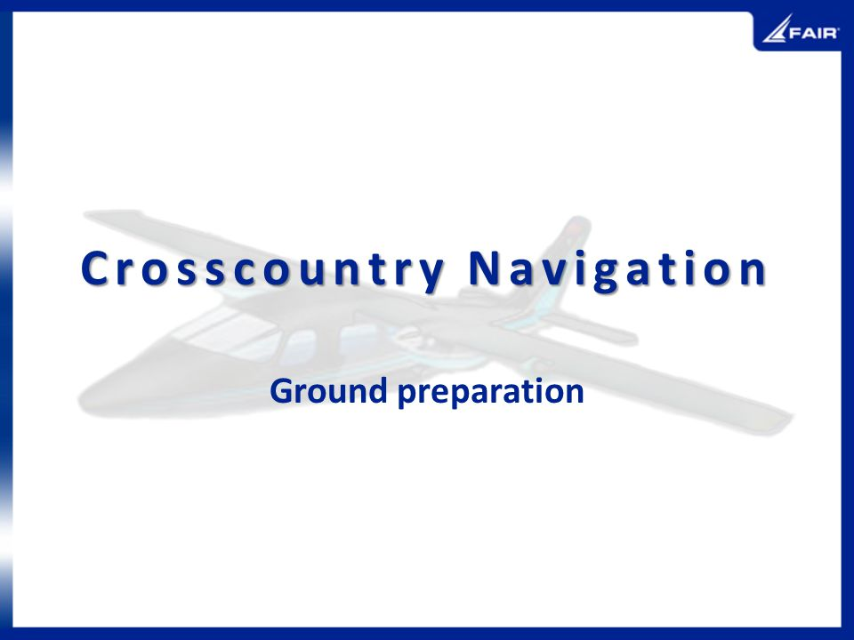 Crosscountry Navigation
