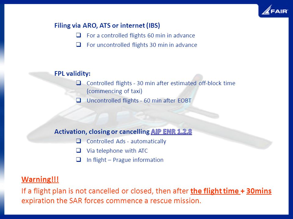 Filing via ARO, ATS or internet (IBS)