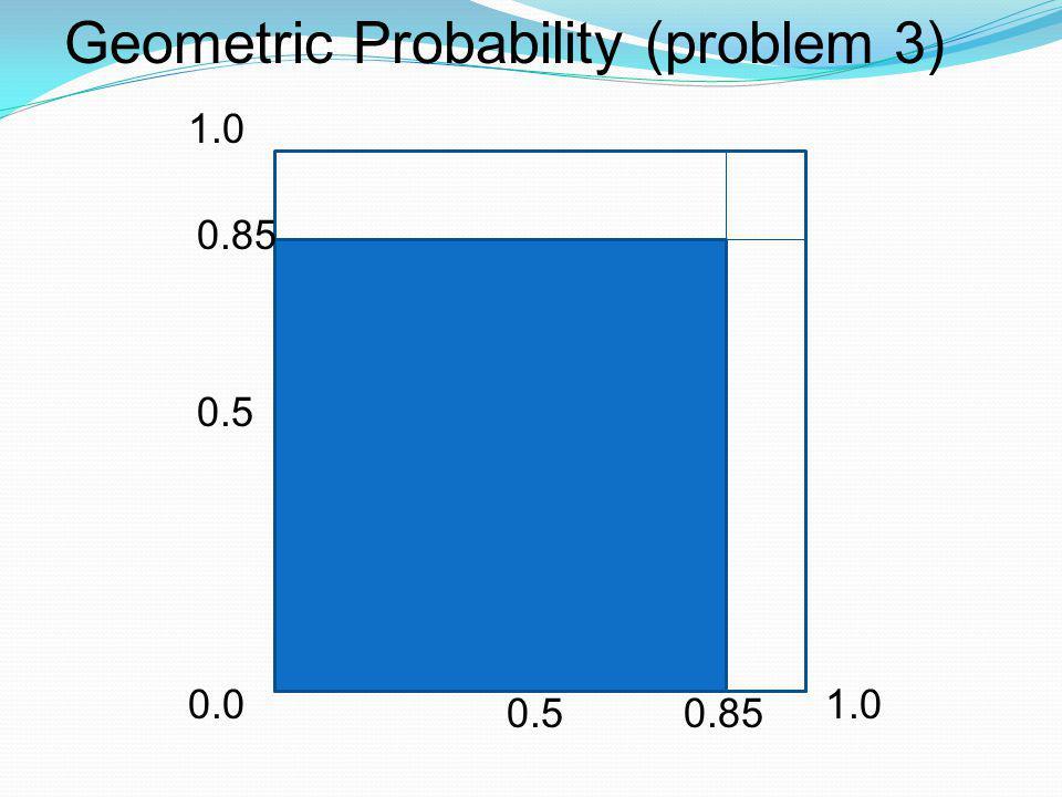 Geometric Probability (problem 3)