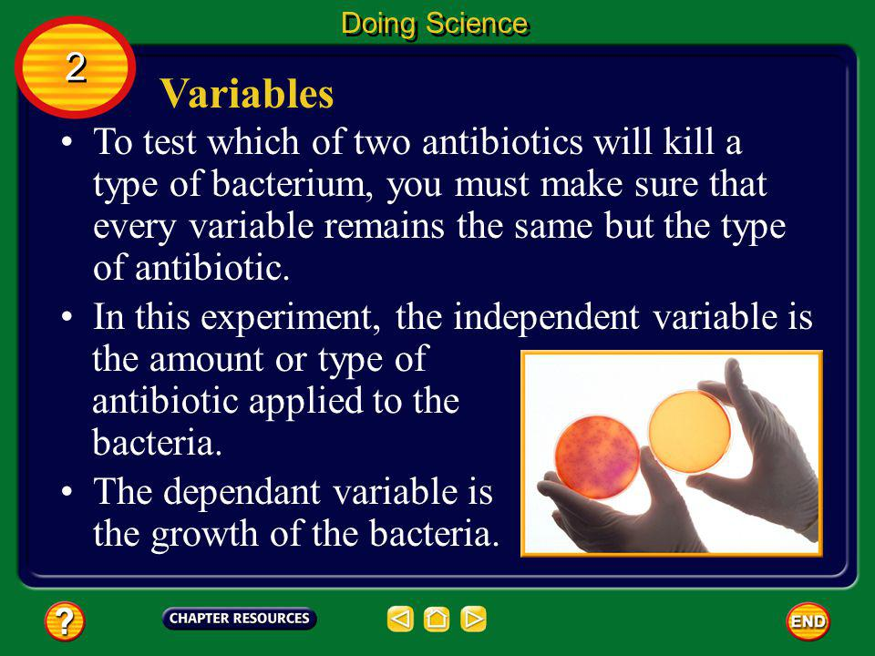 Doing Science 2. Variables.