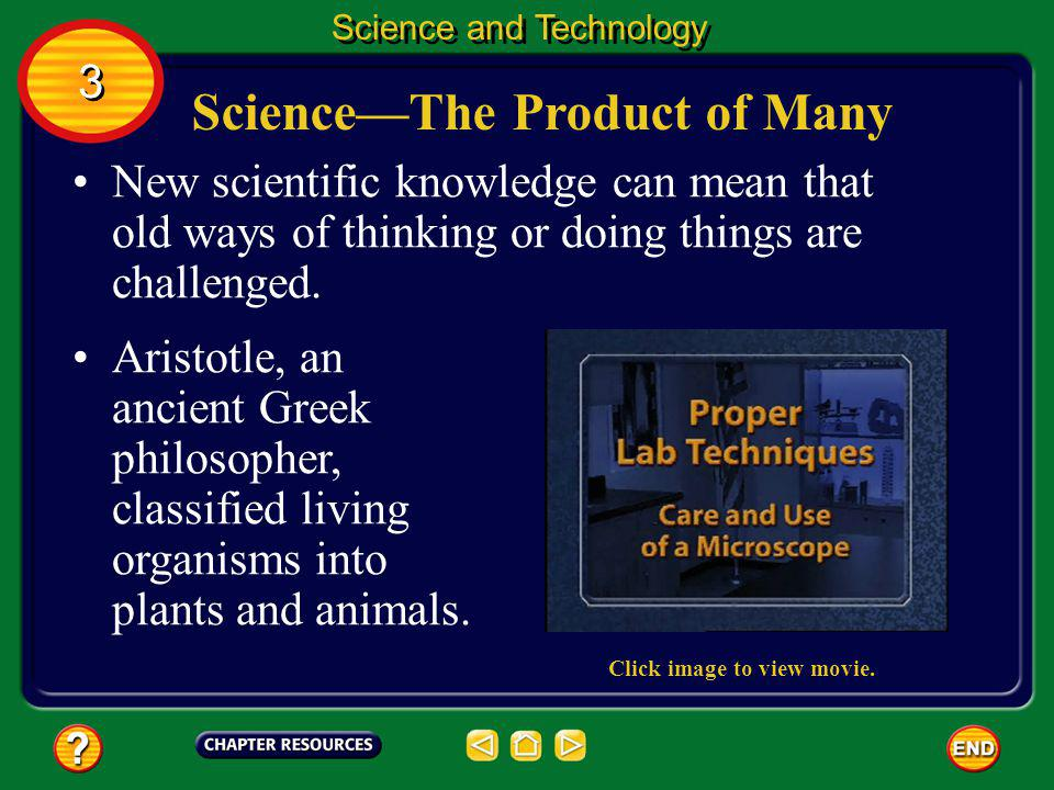 Science—The Product of Many