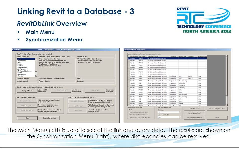 Linking Revit to a Database - 3