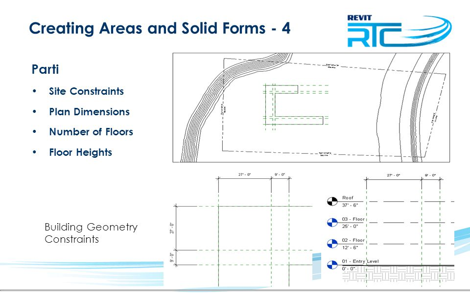 Creating Areas and Solid Forms - 4