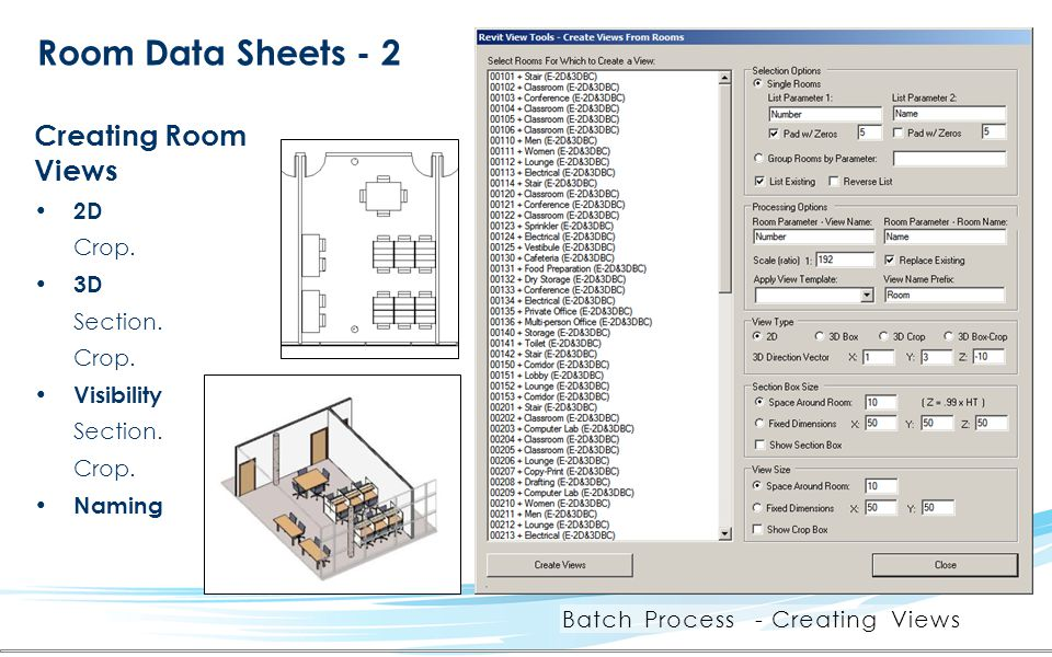 Batch Process - Creating Views