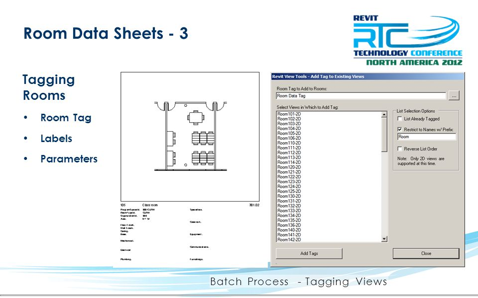 Batch Process - Tagging Views
