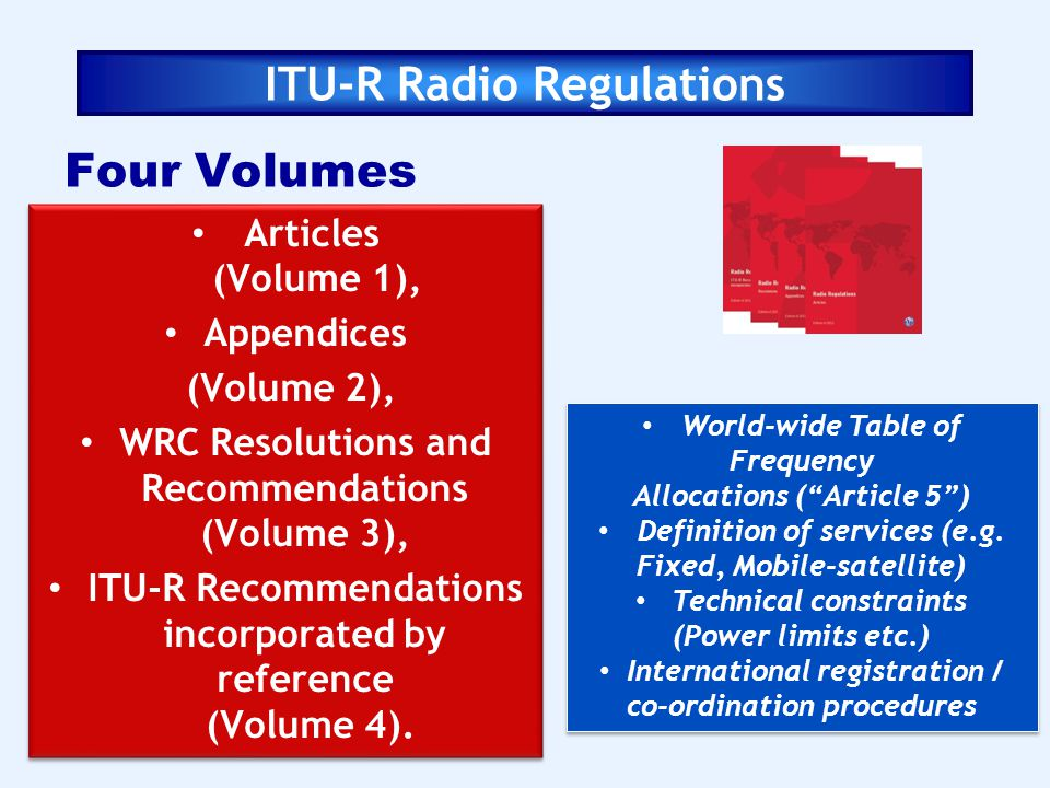 ITU-R Radio Regulations
